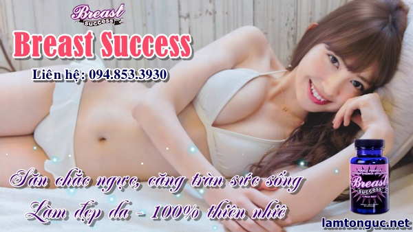 Viên uống to ngực Breast Success