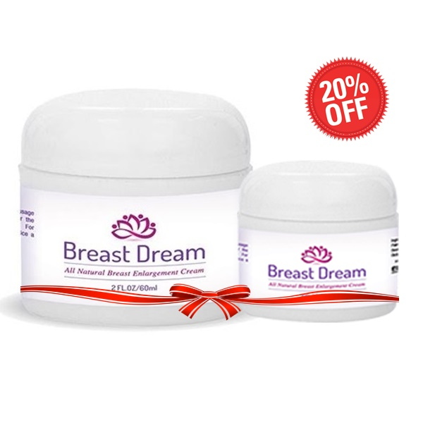 Combo 2 kem Breast Dream Upsize Pro giảm 20%