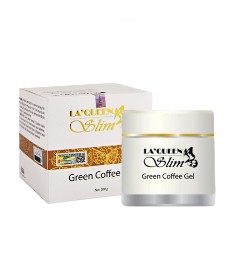 Kem Green Coffee Gel La'Queen Slim đánh tan mỡ bụng